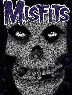 New Wave Music, Music Love, Rock Posters, Band Posters, Misfits Wallpaper, Danzig Misfits, Doyle Misfits, Misfits Band, Metal Band Logos