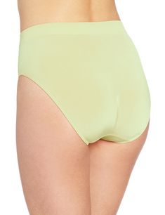 ec769a035f Wacoal Womens BSmooth HiCut Brief Panty White Jade Small -- Have a look at  this