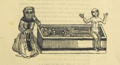 Image taken from page 13 of 'The Lamentable Vision of the Devoted Hermit (written of a sadly deceived soul and its body). [Translated by Wil...