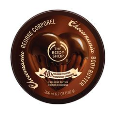 The Body Shop Chocomania Body Scrub Regular - oz exfoliating body scrub has a decadently chocolatey scent and leaves skin feeling softer and smoother. The Body Shop, Body Shop Body Butter, Scrub Shop, Exfoliating Body Scrub, Chocolate Day, Chocolate Pudding, Body Treatments, Belleza Natural, Smell Good