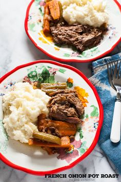 French Onion Pot Roast (Slow Cooker Recipe)