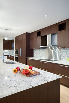 Modern Kitchen | Westcoast contemporary home by Best Builders Ltd. | Ema Peter Photography