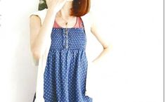Cutie Pleated Polka Dot Dress