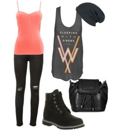 Sleeping with Sirens outfit created on polyvore by aleawass