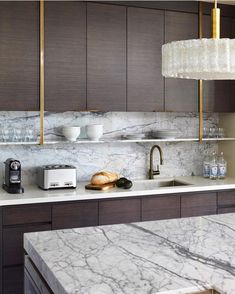 """Nam Dang Mitchell Design (@namdangmitchell) on Instagram: """"Breakfast bar to the side of the kitchen so everyone stays out of the chef's way. #fedoraresidence…"""""""