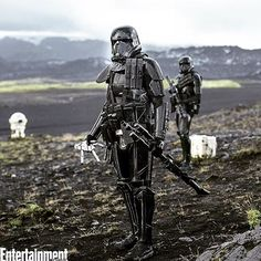 Oh my #starwars #rogueone #deathtroopers #entertainmentweekly