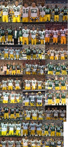 Packers QB Aaron Rodgers photobombs 3-year's worth of team captain pictures