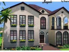 The Sims Resource: Joaquin house by Degera • Sims 4 Downloads