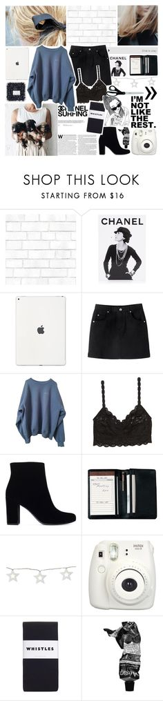 """""""i hate to break it to you but..."""" by princesskendal ❤ liked on Polyvore featuring Tempaper, Assouline Publishing, Chanel, Cosabella, Yves Saint Laurent, Royce Leather, Fujifilm, Whistles and Aesop"""