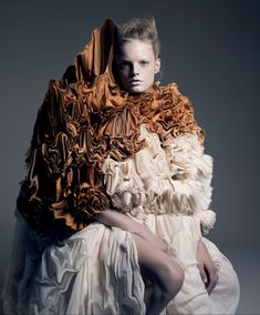Dutch fashion designer Iris van Herpen has become the latest guest editor of Belgian fashion publication A Magazine Curated By.