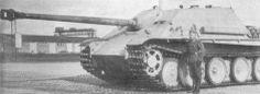 Fahrgestell V101 - prototype of Jagdpanther tank destroyer