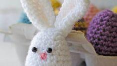 Crochet Easter Basket Pattern - Crochet 365 Knit Too Easter Egg Pattern, Easter Crochet Patterns, Crochet Patterns For Beginners, Crochet Basics, Macrame Patterns, Free Heart Crochet Pattern, Free Crochet, Crochet Toys, Easter Egg Designs
