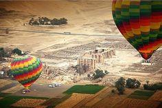 Hot Air Balloon in Luxor City - Egypt