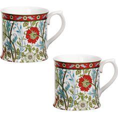 William Morris Pink and Rose Mugs - Tableware - Home Decor - The Met Store