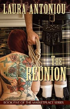 [This is the text of the book review from episode 47.]  This episode's book review is The Reunion by Laura Antoniou. As mentioned in the previous episod