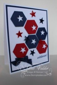 Hexagon Honeycomb Punch Art with Deb Valder