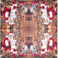 Servítka - Santa a deti - malá