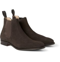 Awesome boots!!!  Church's Suede Chelsea Boots