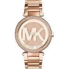 Parker Rose Gold Stainless Steel Quartz Fashion Watch