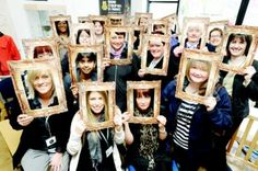 Multiple people in the frame in Blackburn and Darwen for ! The Fosters, Frame, People, Picture Frame, Frames, People Illustration, Hoop, Picture Frames