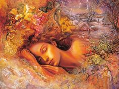 Goddesses - Psyches Dream - Josephine Wall Paintings