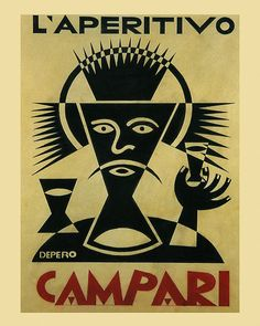 Bar 16x20 L'Aperitivo Campari Drink Italy