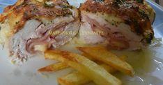 Ελληνικές συνταγές για νόστιμο, υγιεινό και οικονομικό φαγητό. Δοκιμάστε τες όλες Chicken Recipes, Recipies, Food And Drink, Pork, Meat, Cooking, Ground Chicken Recipes, Recipes, Pork Roulade