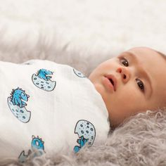 Aden + Anais Classic Swaddles 4 Pack - Dino-Mite | Baby www.duematernity.com