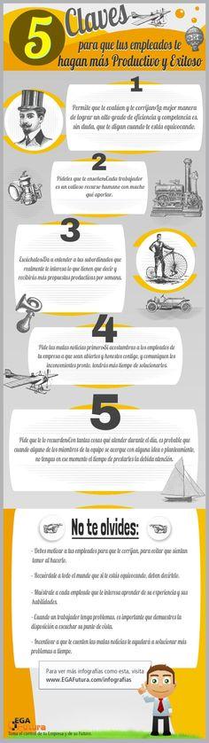 """""""5 Claves para ser más Productivo y Exitoso""""; EGA Futura"""