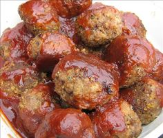 Uncle Tom's Appetizer Meatball Sauce