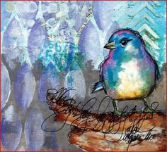 Art Journal Freedom How to Journal Creatively with Color & Composition Dina Wakley – 2013 Book Overview | Jacki Kellum