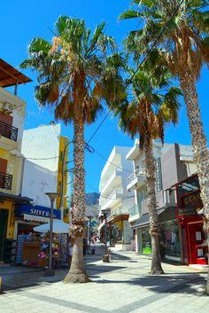 Hersonissoksen rantakadun näkymää.  #Hersonissos #Aurinkomatkalla #Aurinkomatkat #Aurinkojahti #Kreeta #matkailu