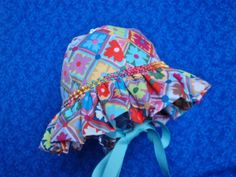 Infant Baby Sunhat Colorful by AdorableandCute on Etsy, $24.00