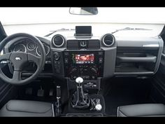 Startech Defender interior