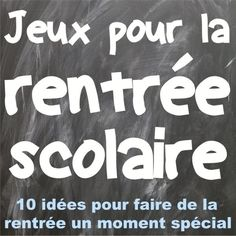 French Back-to-school Games: jeux pour la rentrée scolaire Classroom Games High School, High School Activities, School Games, French Teaching Resources, Teaching French, Science Resources, First Week Of School Ideas, French Flashcards, High School French