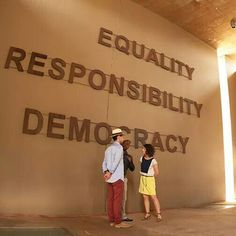 """""""For to be free is not merely to cast off one's chains, but to live in a way that respects and enhances the freedom of others."""" - Nelson Mandela  When you visit the Apartheid Museum, you'll see why South Africa needs to be admired."""