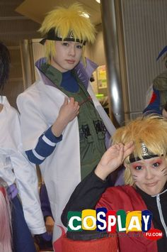 Yondaime Hokage Cosplay from Naruto at Winter Comiket 83