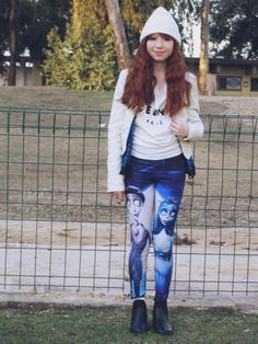Cartoon Print Leggings