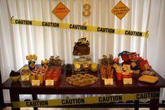 Birthday Construction Party