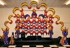 balloon for wedding Balloon Backdrop, Balloon Wall, The Balloon, Balloon Decorations, Balloon Ideas, Prom Balloons, Arabian Nights Party, Henna Party, Wall Backdrops