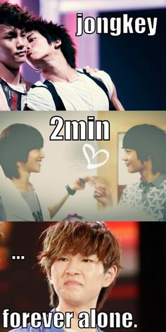 SHINee love. Onew has chicken, no need to worry. Oh, he's got me too- must not forget about that.
