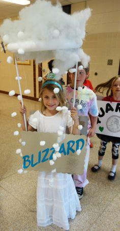 BLIZZARD! MIss Alaineus Vocabulary Parade, free directions at debrafrasier.com