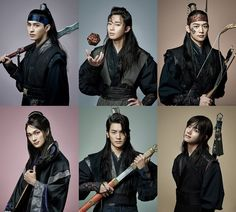 """New character stills have been released for KBS2′s drama, """"Hwarang: The Beginning ('Hwarang' henceforth)."""" The drama will star Park Seo Joon, Park Hyung Sik, Go Ara, Minho, Do Ji Han, Jo Yoon Woo, and BTS's V and is expected to air some time in the second half of 2016 ...."""