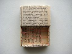 Matchbox art by Kaija Rantakari, 2010 / paperiaarre.com