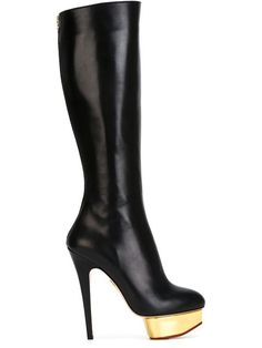 Shop Charlotte Olympia 'Bonnie' boots in Profile from the world's best independent boutiques at farfetch.com. Shop 300 boutiques at one address.