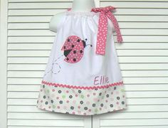 Ladybug pillowcase dress#Repin By:Pinterest++ for iPad#