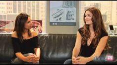 "Backstage @ ""Rules of Engagement"": Bianca Kajlich & Megyn Price"