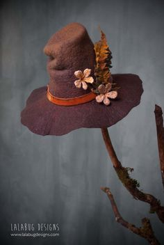 travellers wide brim hat by lalabug designs