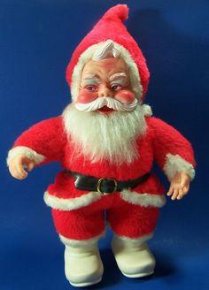 Santa Claus Coca Cola Plush Rushton Doll White Boots Black Belt No Coke Bottle #Rushton
