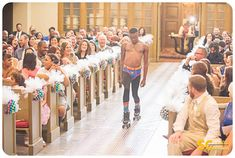 Most awesome ring bearer